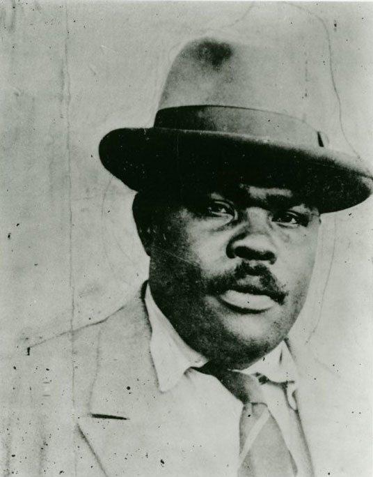 Marcus Garvey via New York Public Library